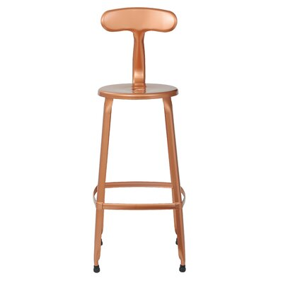 Lexington 30 Bar Stool Color: Copper