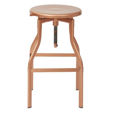 Eastvale Adjustable Height Swivel Bar Stool