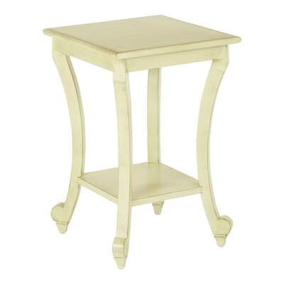 Daren End Table Color: Antique Celedon