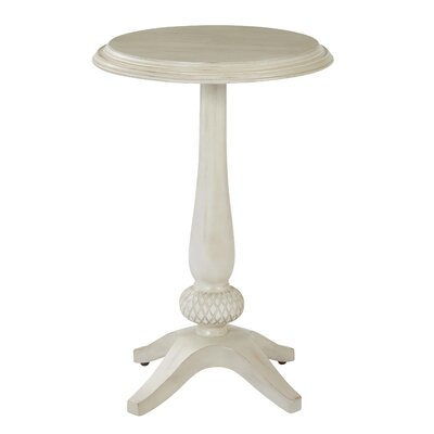 Ava End Table Color: Antique Beige