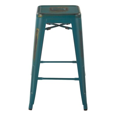 Isabel 26 Bar Stool Finish: Antique Turquoise
