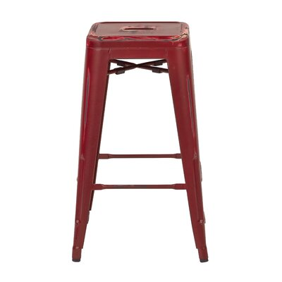 Isabel 30 Bar Stool Finish: Antique Red