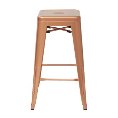 Fineview 26 Bar Stool Finish: Copper