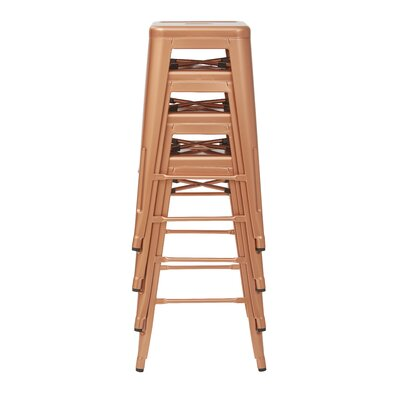 Isabel 26 Bar Stool Finish: Copper