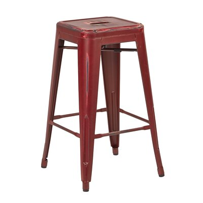 Fineview 26 Bar Stool Finish: Antique Red