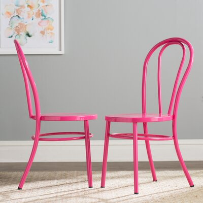 Odessa Side Chair Finish: Pink