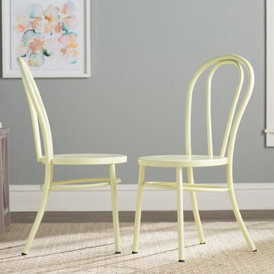 Odessa Side Chair Finish: Pastel Lemon