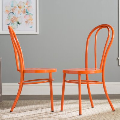 Odessa Side Chair Finish: Orange