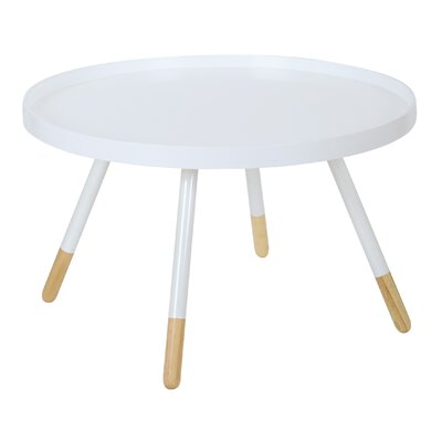 Clyde Coffee Table Finish: White