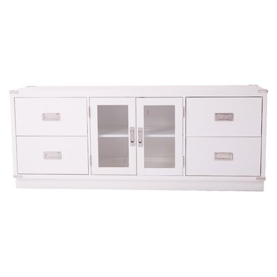 Norene 60.25 TV Stand Color: White