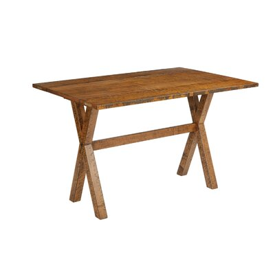 Meilani Flip Top Console Table Finish: Distressed Brown