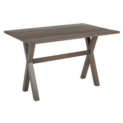 Meilani Flip Top Console Table Finish: Distressed Washed Gray