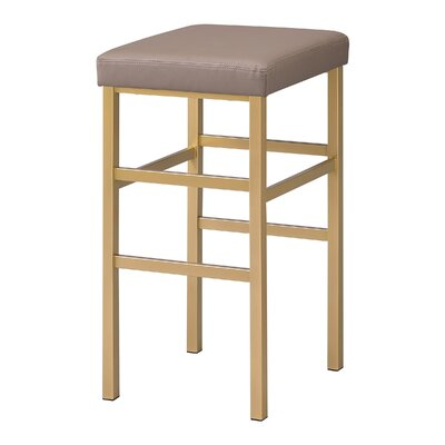 Skyla 30 Backless Bar Stool Fabric: Camel