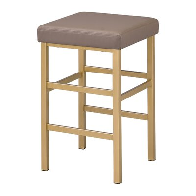 Skyla 26 Backless Bar Stool Fabric: Camel
