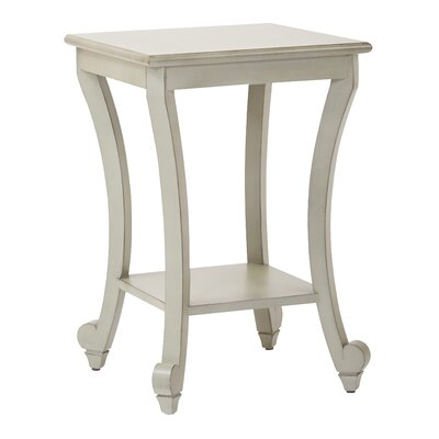 Daren End Table Color: Antique Gray