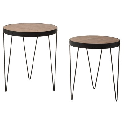 Courtland 2 Piece Nesting Tables