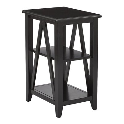 Whitbeck 2 Shelf End Table
