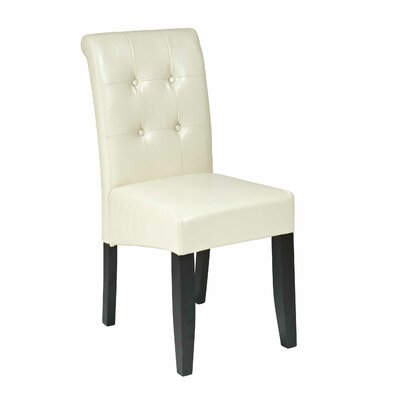 OSP Designs Parsons Chair - Upholstery: Cream at Sears.com