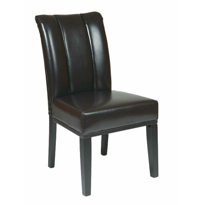 Side Chair Upholstery: Espresso