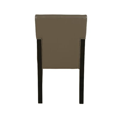 Rent Metro Parsons Chair Finish: Chocola...