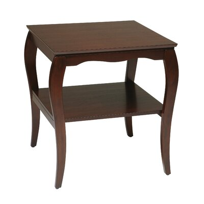 Rent to own Brighton End Table Finish: Cherry...