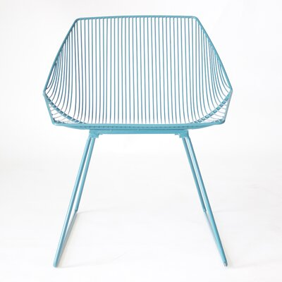 Bunny Lounge Chair Color: Peacock Blue