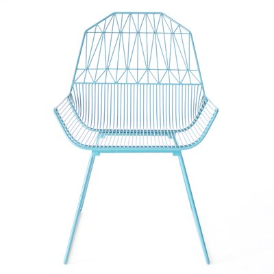 Famhouse Armchair Color: Peacock Blue
