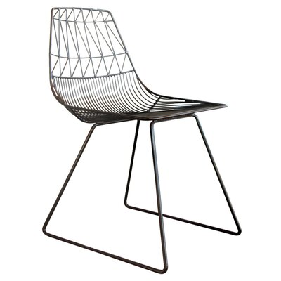 Lucy Side Chair Color: Black