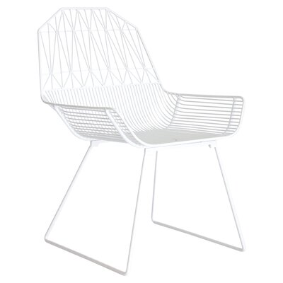 Famhouse Lounge Chair Color: White