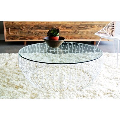 Coffee Table Color: White