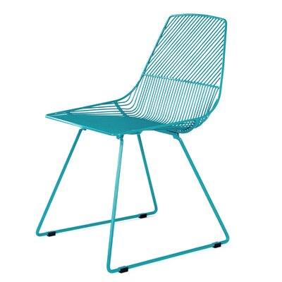 Ethel Side Chair Color: Peacock Blue