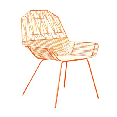 Famhouse Lounge Chair Color: Orange
