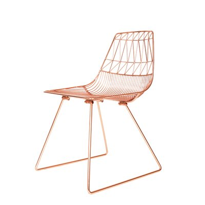 Lucy Side Chair Color: Copper