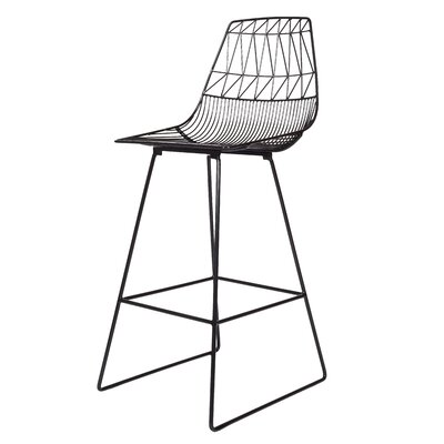 26 Bar Stool Finish: Black