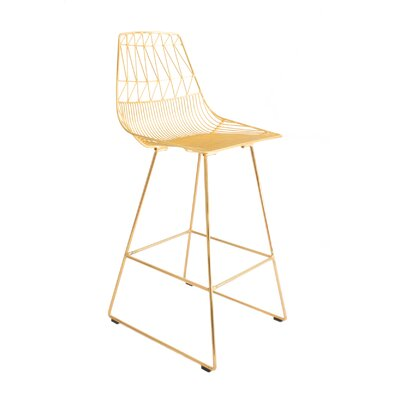 30 Bar Stool Color: Gold