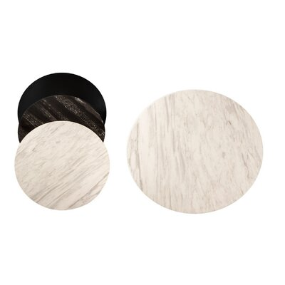 Bistro Table Top Top Finish: White