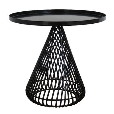 Cono Tray Table Color: Black