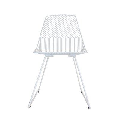 Ethel Side Chair Color: White