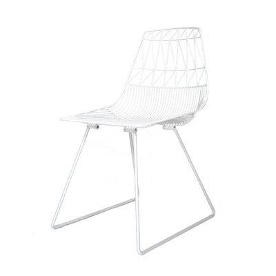 Lucy Side Chair Finish: White