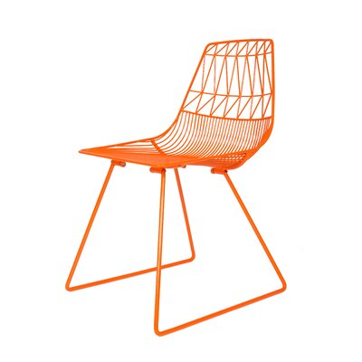 Lucy Side Chair Finish: Orange