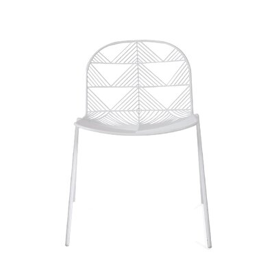 Betty Dining Chair Color: White