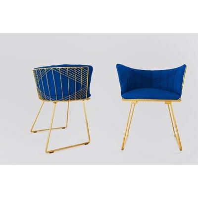 Captain Sunbrella Dining Chair Cushion Fabric: True Blue