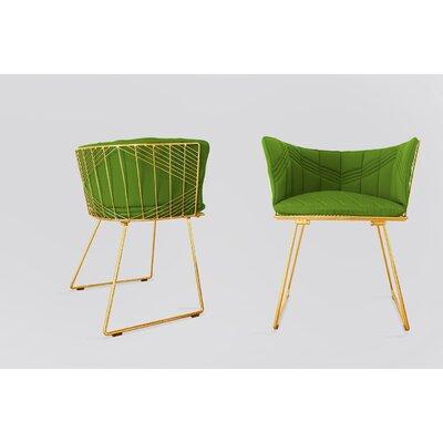 Captain Sunbrella Dining Chair Cushion Fabric: Palm
