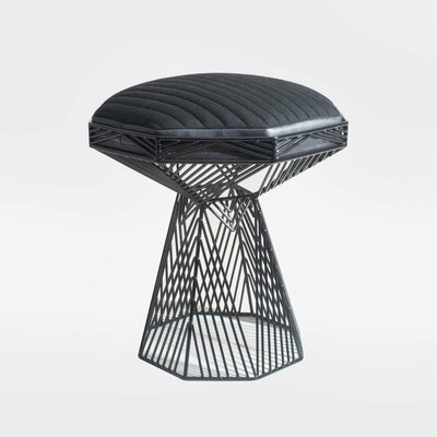 Switch End Table Finish: Black
