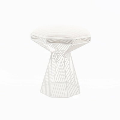 Switch End Table Finish: White