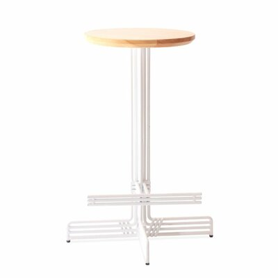 Stick 26 Bar Stool Color: White
