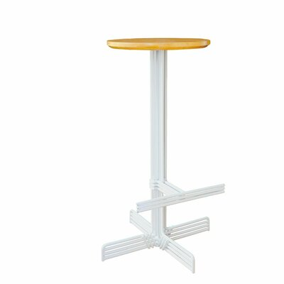 Stick 29 Bar Stool Color: White