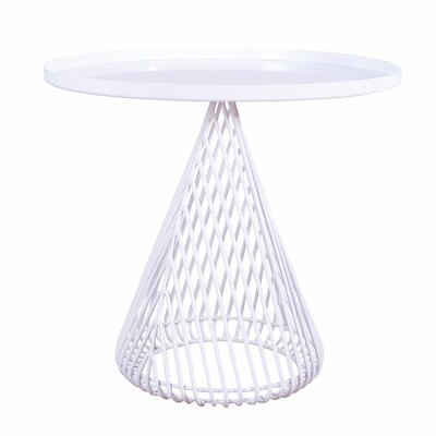 Cono Tray Table Color: White