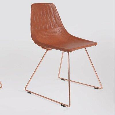 Lucy Saddle Barstool Cushion (Set of 2) Fabric: Camel