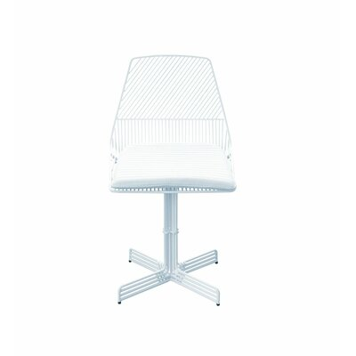 Swiveling Ethel Dining Chair Color: White
